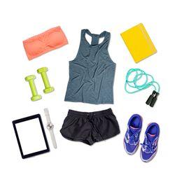 Sportovní oděvy, obuv a doplňky
