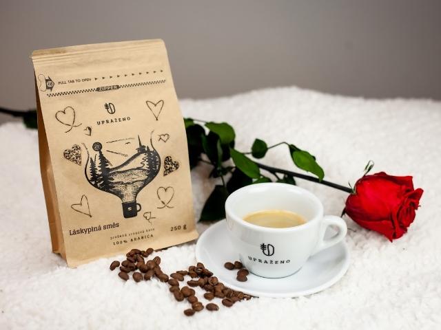 Láskyplná pražená káva, kterou si zpříjemníte nejen svátek svatého Valentýna