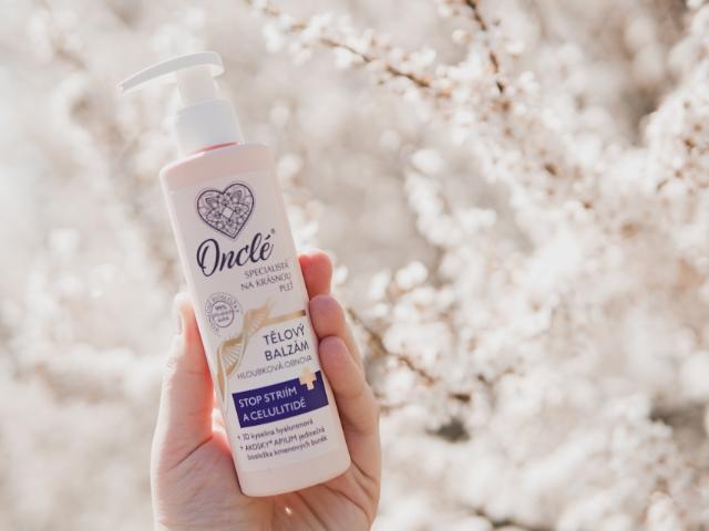 Luxusní tělový balzám Onclé navrátí pleti krásu i zdraví