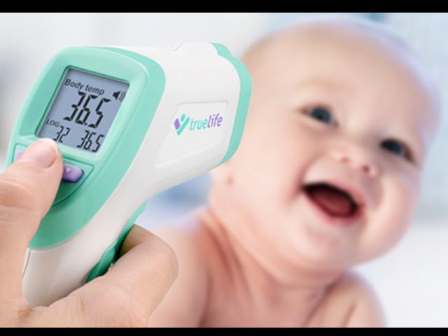 Už žádné dlouhé čekání, zjistěte teplotu snadno a rychle s teploměrem TrueLife Care Q7